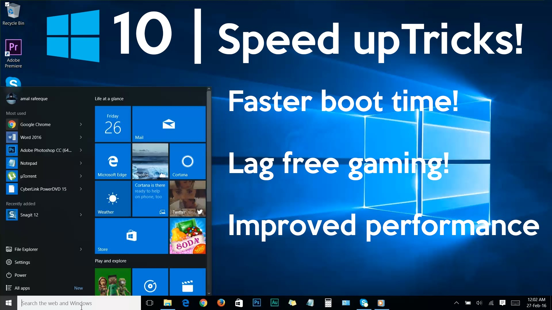 Windows 10 Tips To Improve Performance